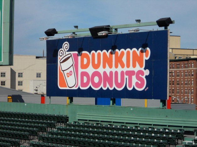 Image result for dunkin donuts fenway