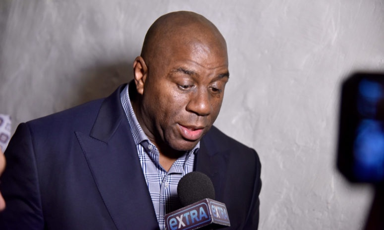 Magic Johnson Steps Down as Lakers President of Basketball Operations