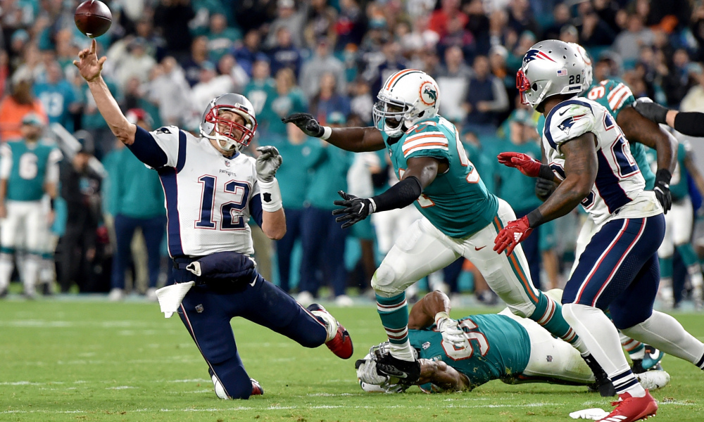 Do the Patriots benefit from being in the AFC East?