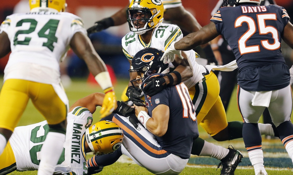 Thrilling 10-3 Packers Victory over the Bears Starts off the NFL Season with a Nice Kick in the Groin