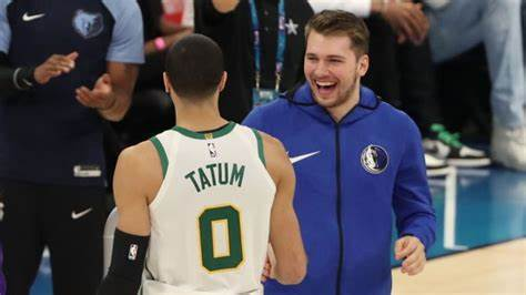 Doncic and Tatum join NBA Royalty